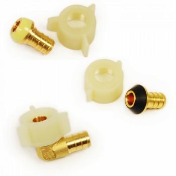 CrownPEX DZR Brass Swivel Adapters
