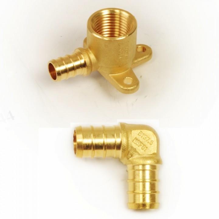 CrownPEX DZR Brass Elbows